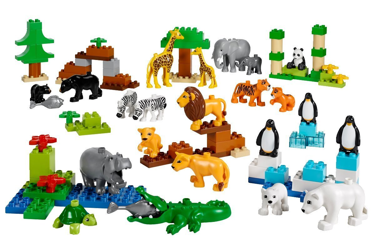 LEGO レゴ デュプロ ゆかいな動物セット 45012 【国内正規品】 V95-5265   B01BFFRTXE