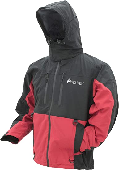 FROGG TOGGS Men's Pilot II Guide Waterproof Breathable Rain Jacket