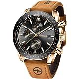 BENYAR - Stylish Wrist Watch for Men, Genuine Silicone Strap Watches, Perfect Quartz Movement, Waterproof and Scratch…