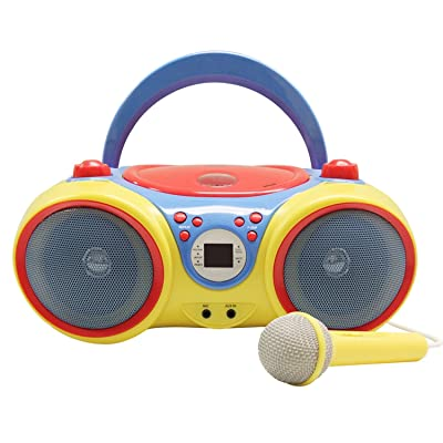 HamiltonBuhl HECKIDSCD30 Kids CD Player/Karaoke Machine with Microphone: Industrial & Scientific