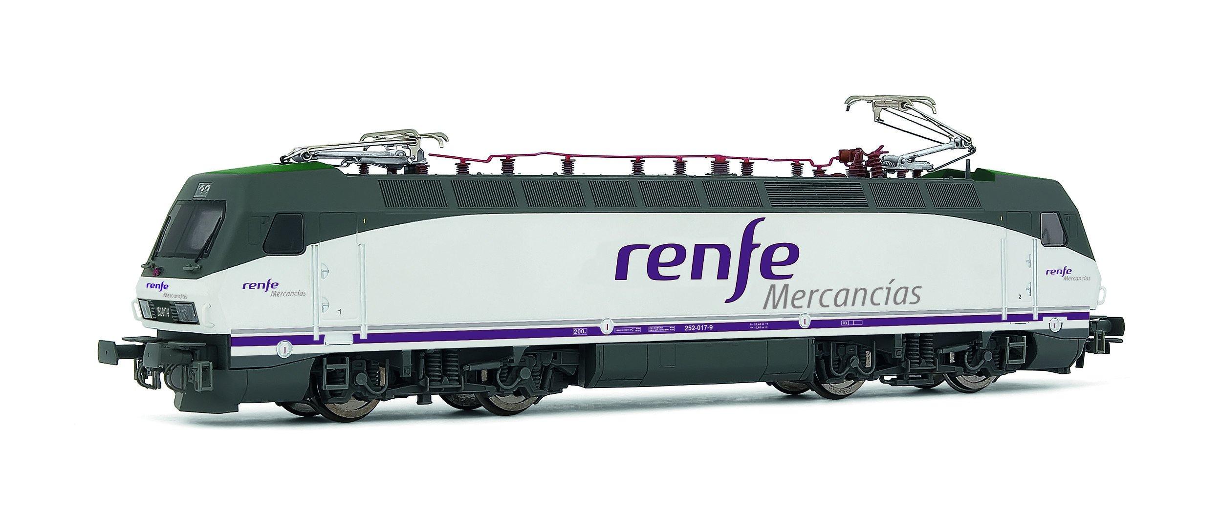 Electrotren-Locomotive 252.017, RENFE Operator Goods (Hornby e2524) by Electrotren (Image #1)