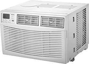 AMANA 10,000 BTU 115V Window-Mounted Air Conditioner with Remote Control, White