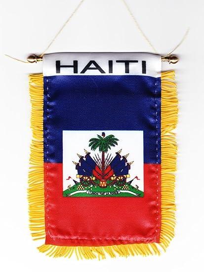 Haiti - Window Hanging Flag