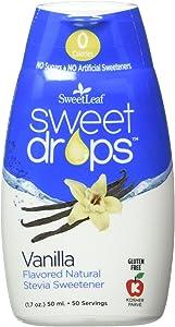 Sweetleaf Stevia Stevia Sweet Drop Vanilla