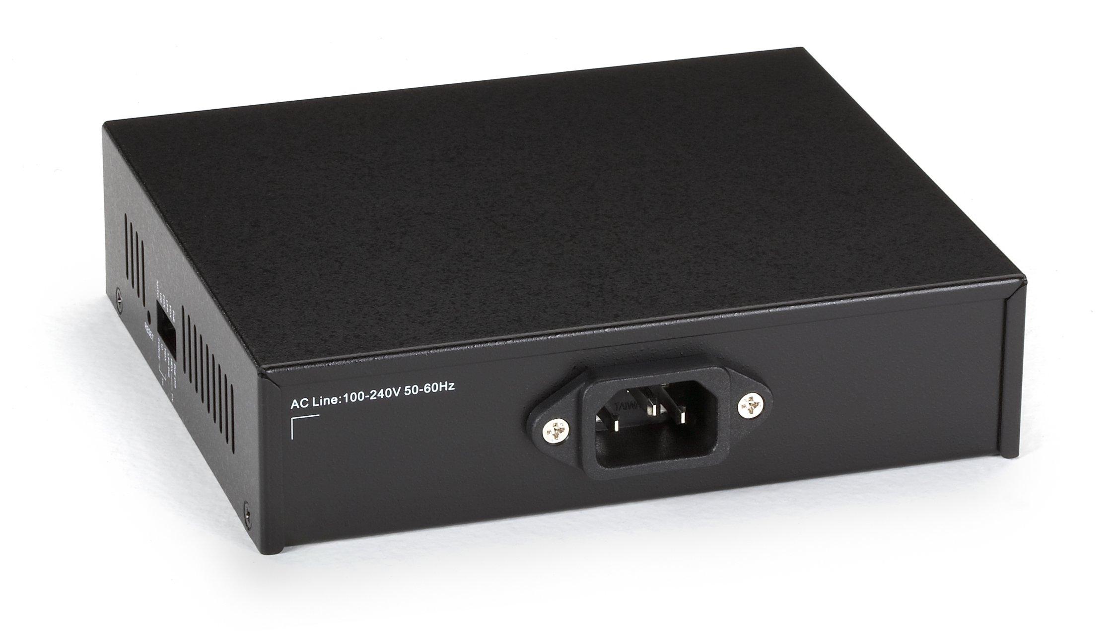 Black Box Media Converter Fast Ethernet PoE Single Mode 1300nm 20km SC