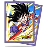 Ultra Pro Official Dragon Ball Super Explosive Spirit Goku Standard Deck Protector Sleeves (65ct)