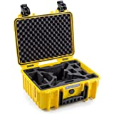 B&W Outdoor Cases Typ 3000 mit Yuneec Breeze Inlay, gelb - Das Original