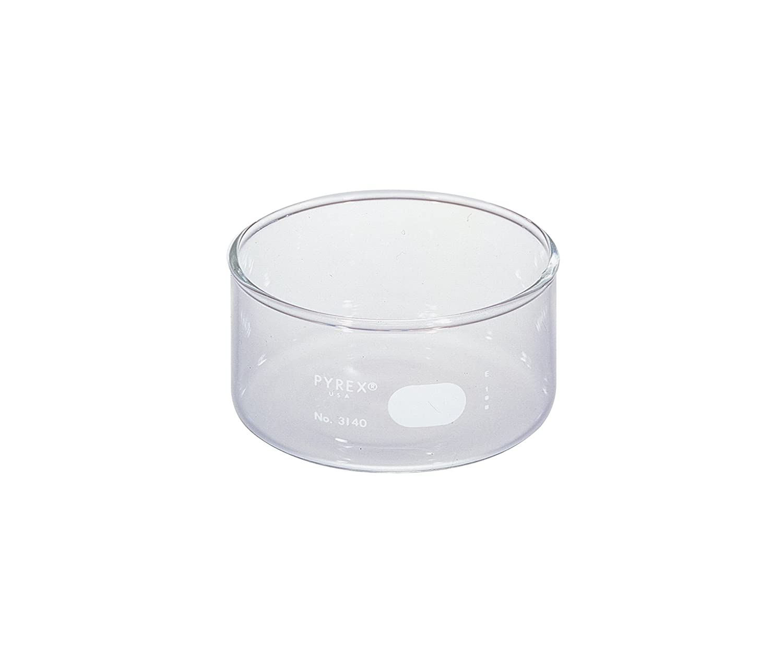 Pack of 2 Corning Pyrex 3140-170 Borosilicate Glass 1770mL Heavy Duty Rim Crystallizing Dish 170mm Diameter x 90mm Height
