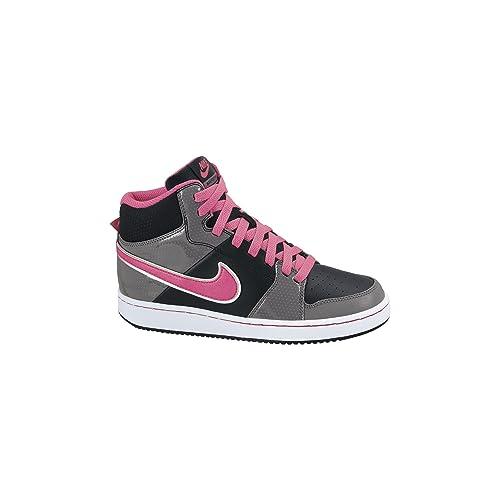 Nike Backboard 2 Mid (GS) - Zapatillas de baloncesto, Niñas, Negro ...