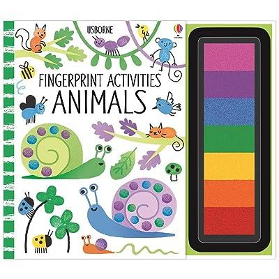 Fingerprint Activities Animals: Fiona Watt: Toys & Games