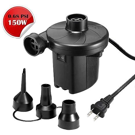 Amazon.com: kumeed AC Bomba de aire eléctrica inflador de ...