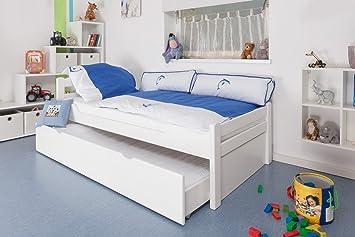 Kinderbett/Jugendbett Easy Premium Line K1/2h Inkl. 2. Liegeplatz Und 2