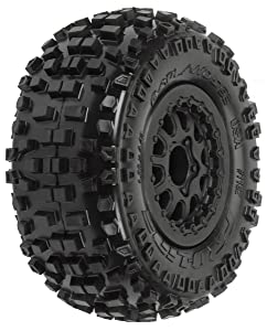 ProLine 118213 Badlands SC 2.2/3.0 M2 Tires (2) Mtd On Renegade Wheels