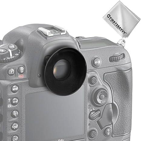 First2savvv DSLR reemplazo tapa del ocular y el ocular para Nikon ...