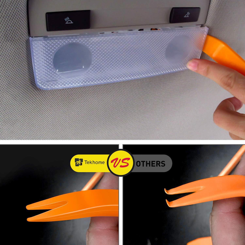 7 Couleurs LED TekHome Autoradio avec USB et Bluetooth Autoradio Bluetooth T/él/écommande Lecteur MP3 Voiture avec Port SD Charge Rapide Single Din Car Head Unit Mains Libres 2 USB