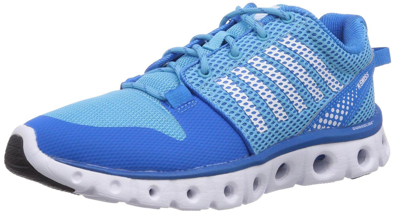 K-Swiss Women's X Lite Cross-Training Shoe, Blue Aster/Bachelor Button, 8 M US