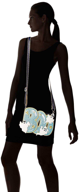 Oregelbundet val kvinnors känsla Boo-tiful Clutch, sling-väska, Navy/Gold/Blue
