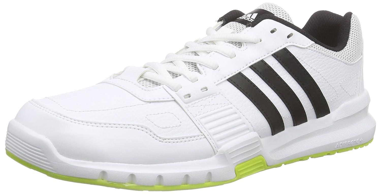 adidas Essential Star .2 Zapatillas de Running, Hombre 41 1/3 EU|Blanco / Negro / Verde (Ftwbla / Negbas / Seliso)