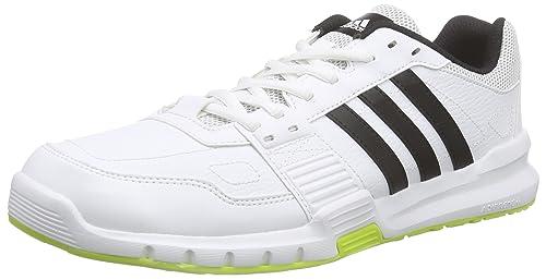 competitive price 46fc4 2f52b Adidas Essential Star .2 Scarpe da corsa, Uomo, Multicolore (Blanco  Negro