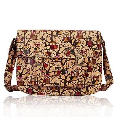 4dd9542fd75 Womens oil cloth Shoulder Bags Ladies Handbags Designer Style New ...