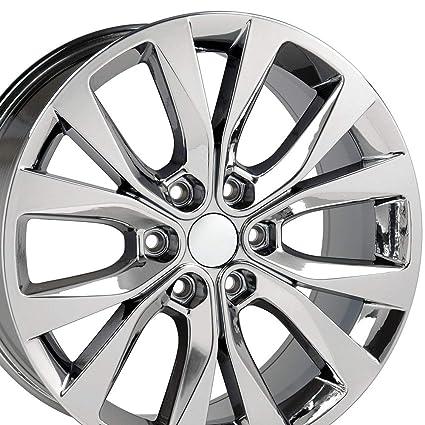 Ford F150 Rims >> Amazon Com 20x8 5 Wheels Fit Ford Trucks F 150 Style Pvd Chrome