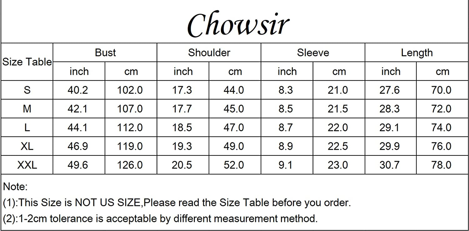 Chowsir Men Casual Short Sleeve Button-Down Tactical Cargo Work Shirts with Shoulder Straps
