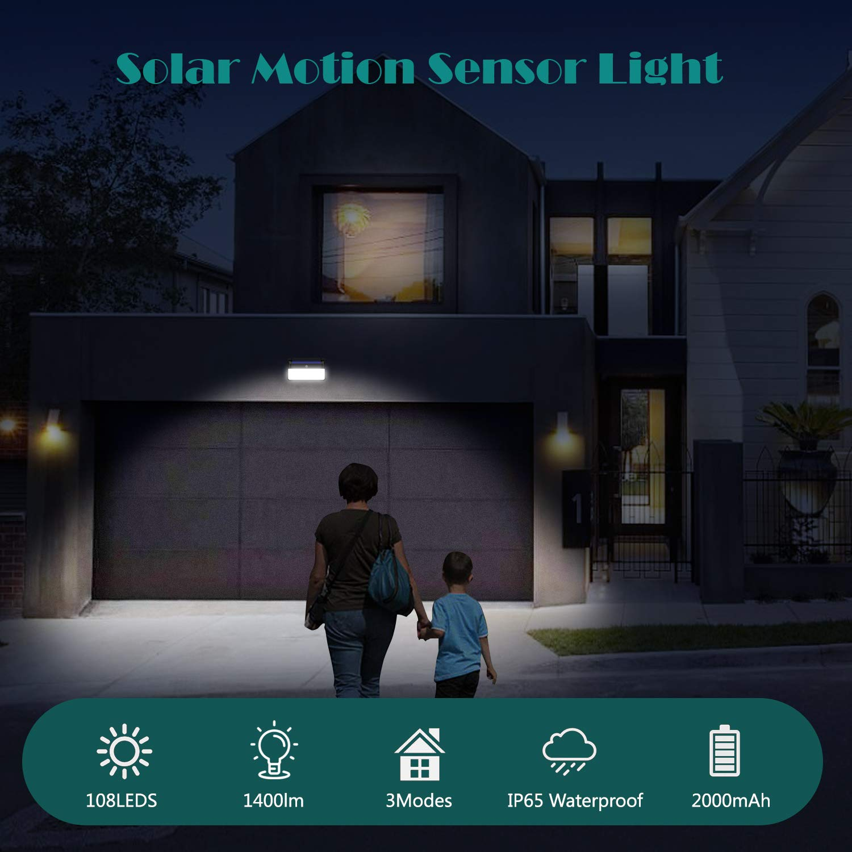 Lámparas y focos solares para exteriores