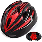 Kids Bike Helmet for Bicycle Cycling, Skateboard, Scooter – Adjustable Harness from Age 3 to 7 for Head Size 19.6-22 inch - D