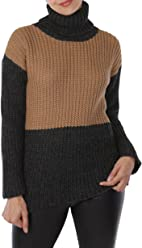 b83bb6ff7f ERLUM Alpaca Lydia Colorblock Baby Alpaca Turtleneck Sweater