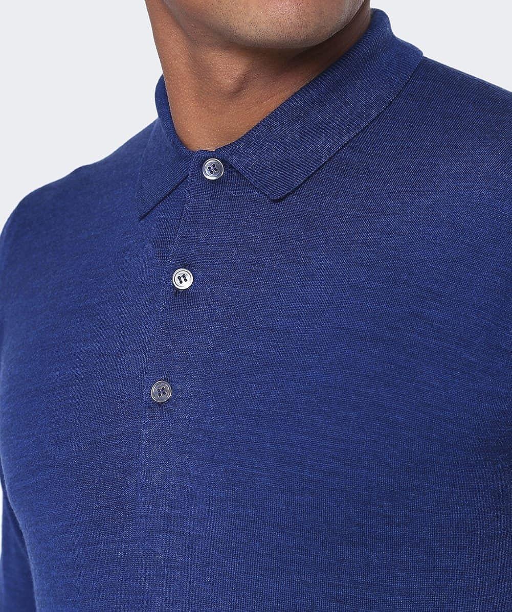 eeebbfc8b7a8 John Smedley Tyburn Long Sleeve Polo (M