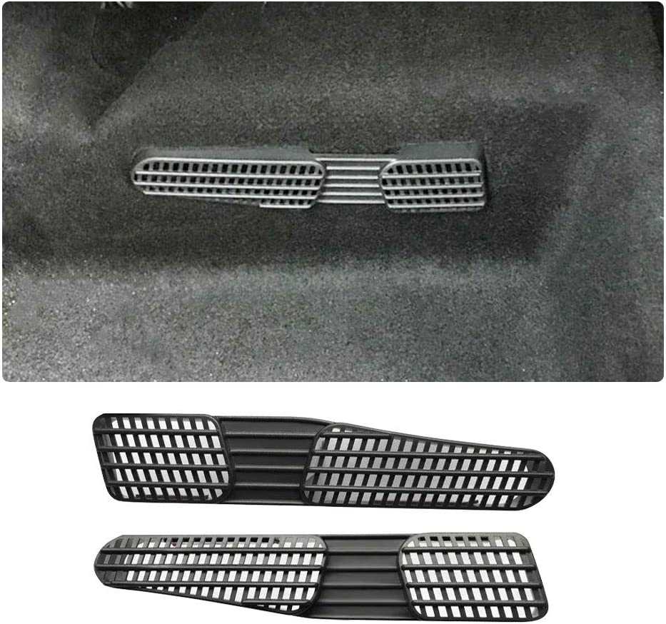 LFOTPP Auto Air Vent cobertura para Seat Arona Ibiza asiento trasero aire acondicionado Outlet Cover 2 unidades