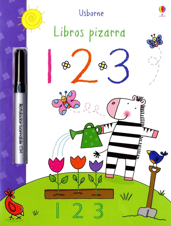 1, 2, 3 (Libros Pizarra): AA.VV.: 9781409544227: Amazon.com ...