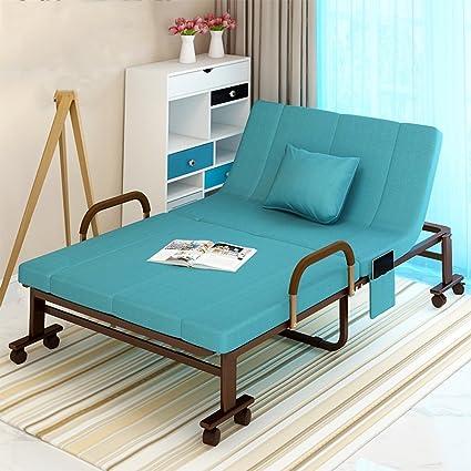 NAN Plegable cama doble oficina Siesta Siesta cama esponja + marco ...