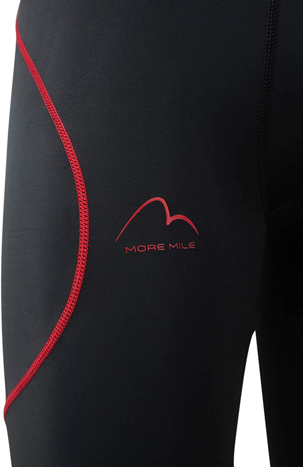 More Mile Mens Compression Running Shorts