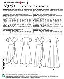 Vogue Patterns V9251F50 Misses' Wrap Dresses with