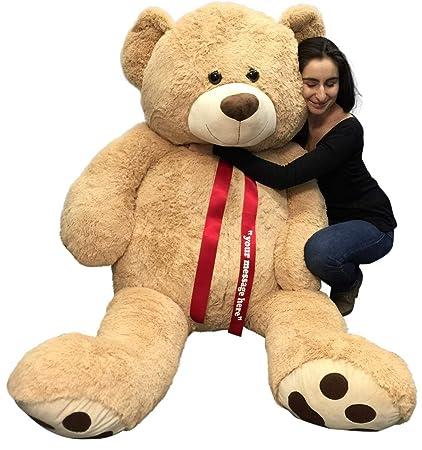 amazon com personalized big plush giant 6 ft teddy bear soft your