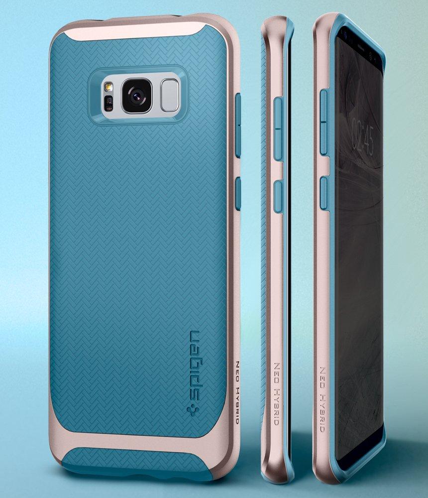 samsung s8 spigen case blue