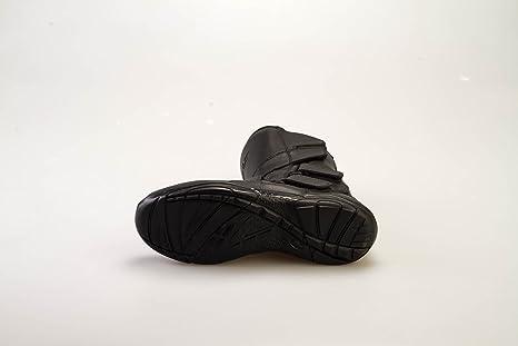 Botas para motocicleta BOLT R45 XXS para turismo impermeables para deportes urbanas botas de cuero para hombre y mujer