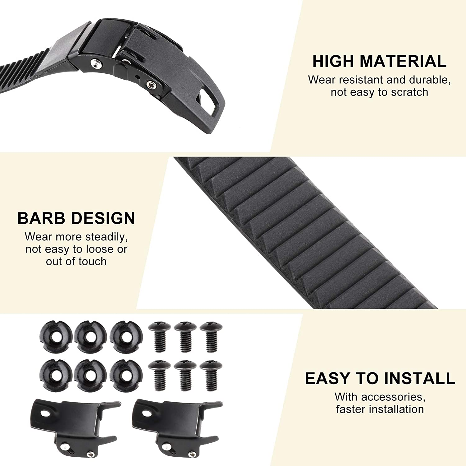 Tookie Skates Strap Set Skating Shoes with Buckle Accessory Practical Wear Resistant Sports Replacement Inline Safety Universal Clasp sy Install Quick Ten 1