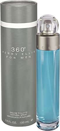3 X BLACK 360 by Perry Ellis EDT Spray