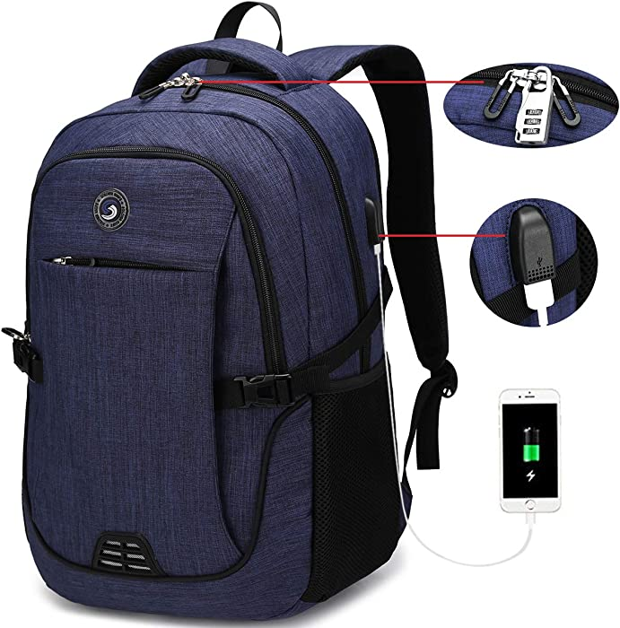Top 8 Anti Theft Laptop Backpack Blue