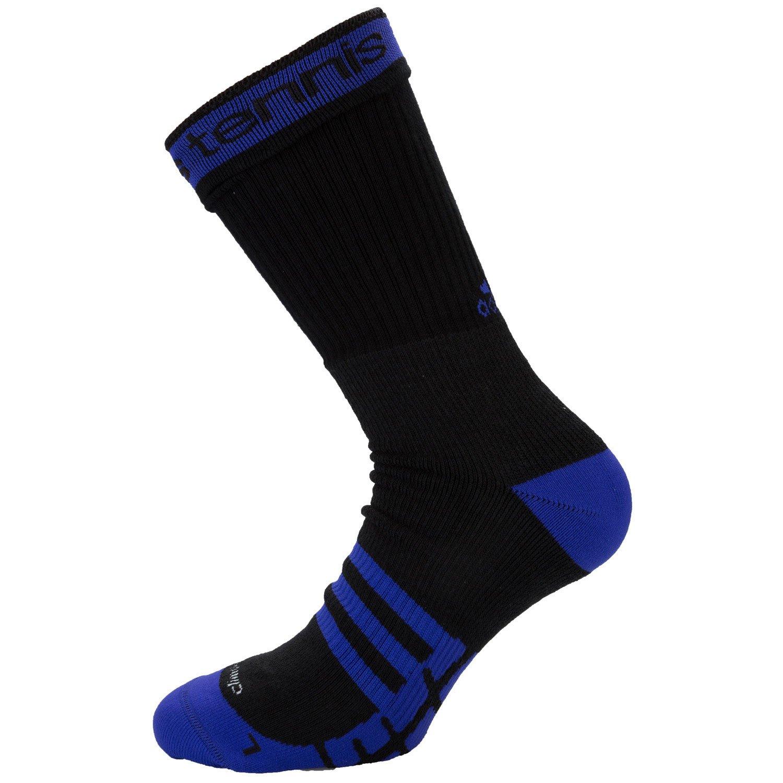 black blue adidas Tennis ID Socks
