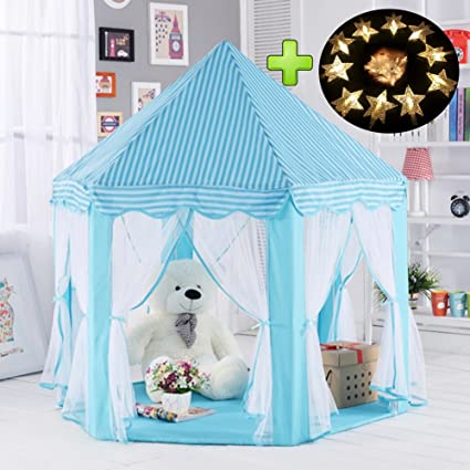 tenda gioco bambino  Tenda per bambini, Castello bambini per giocattoli, tenda per la  principessa castello, Tenda gioco, tende per i bambini per uso interno e  all'aperto, ...