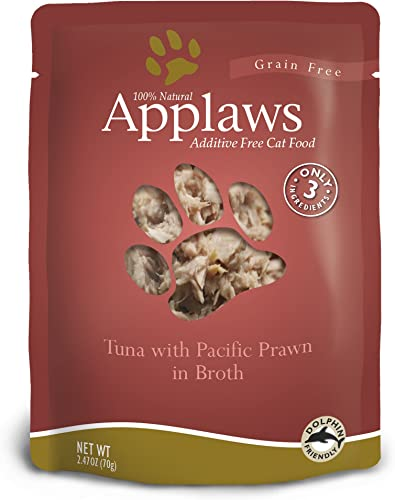 Applaws Tuna and Prawn Pouch Canned Cat Food 2.4oz