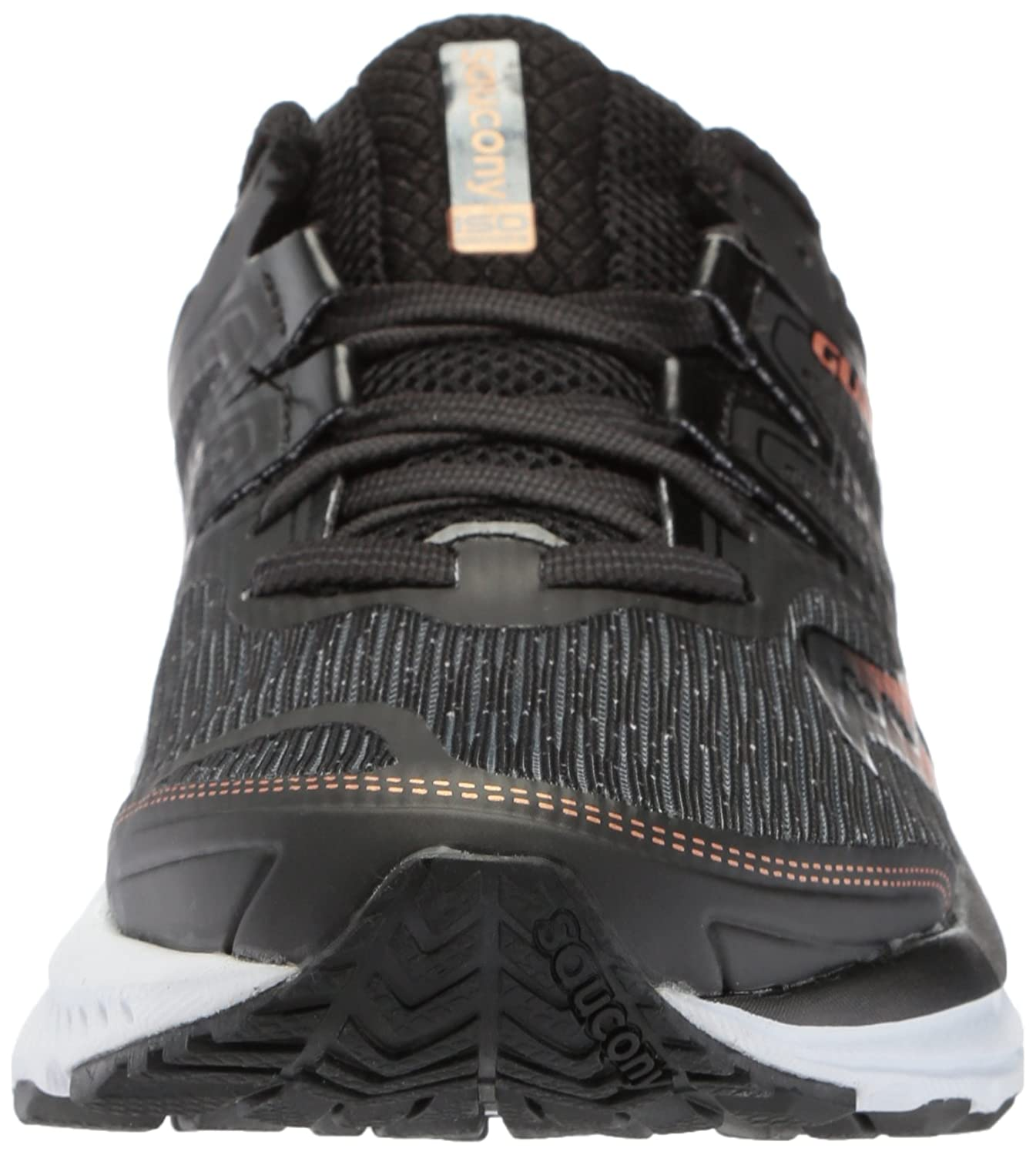 Saucony Women's Guide Iso B(M) Running Shoe B071WKL1D1 8 B(M) Iso US|Black/Denim 30e02d