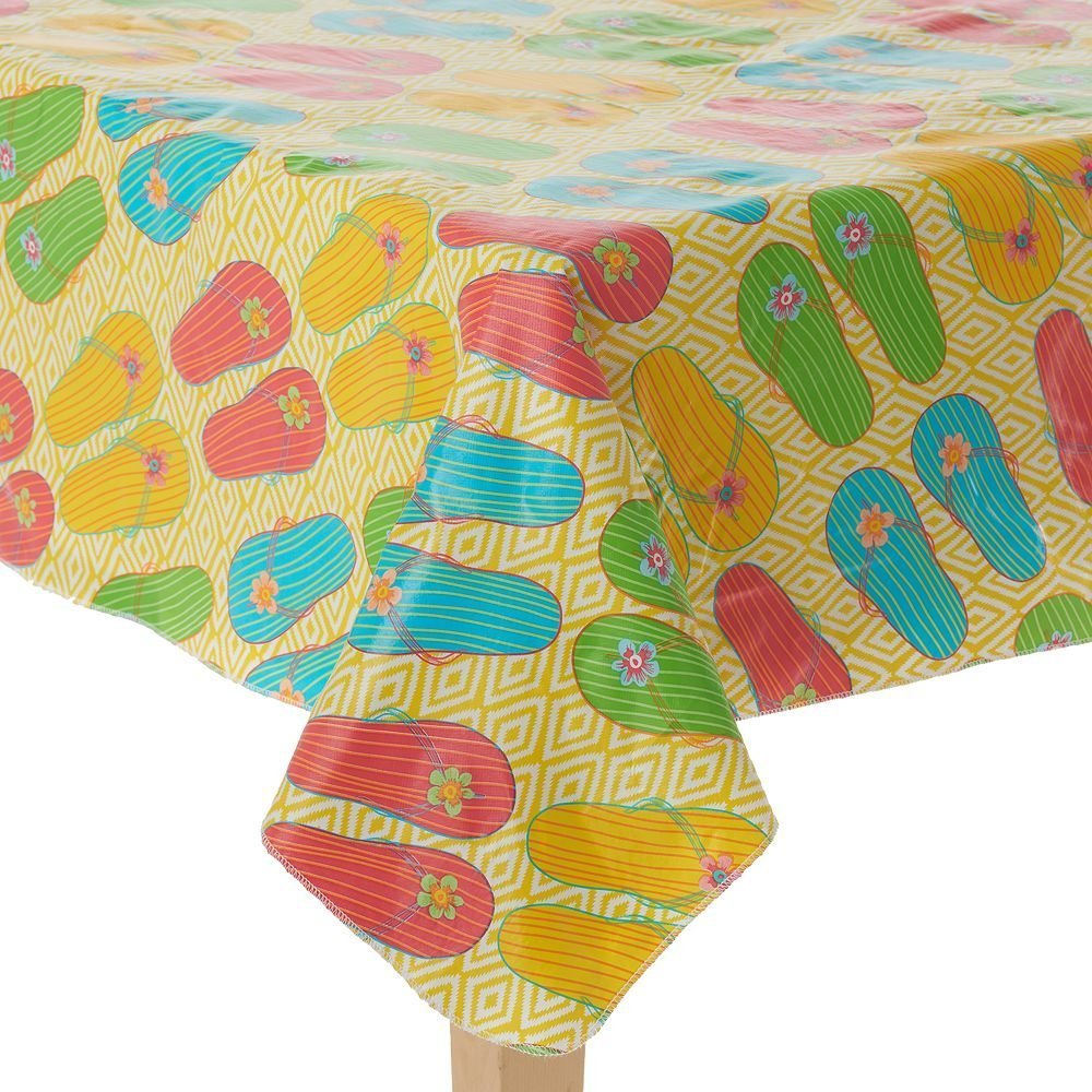 Vinyl Outdoor Tablecloth