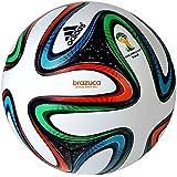 Adidas Brazuca Matchball WC 14 No Lo white-night blue-multicolor - 5
