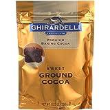 Ghirardelli Sweet Ground Premium Baking Cocoa, 10.5 Ounce - 6 per case.