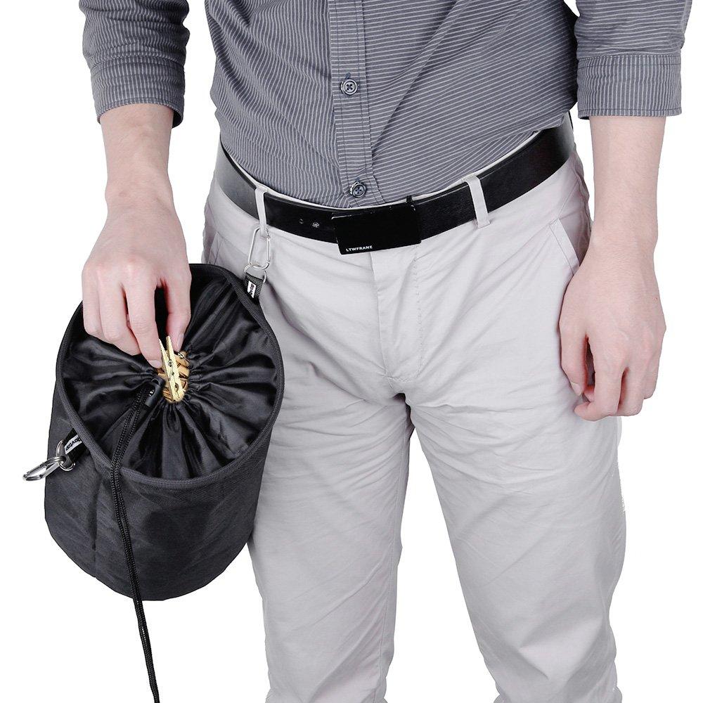 rovtop grande Peg bolsa resistente a la intemperie ropa bolsa para pinzas con 2/gancho clips