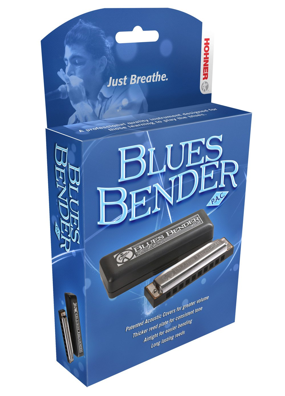 Hohner Blues Bender PAC, Key of C